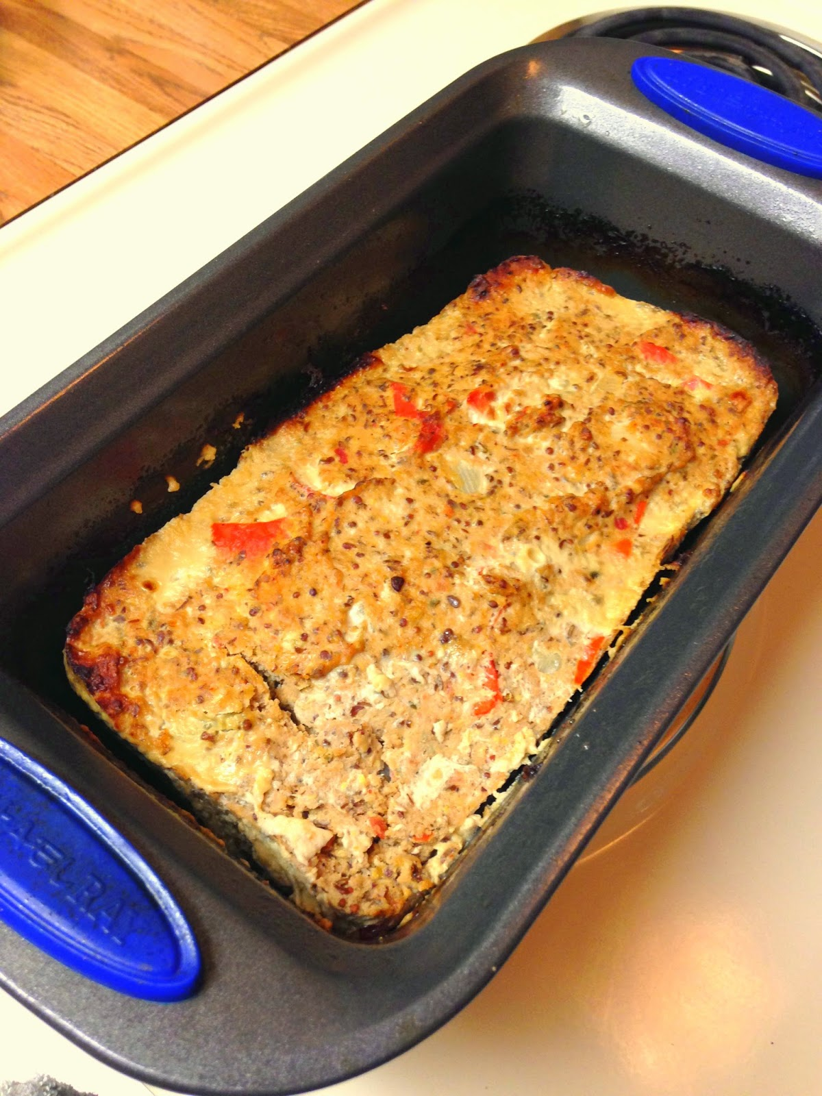 South of the Border Turkey Meatloaf (Gluten- and Grain-Free; Paleo friendly recipe) from Hungry Gator Gal