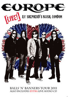 Europe - Live At Shepherd's Bush – CD DVD