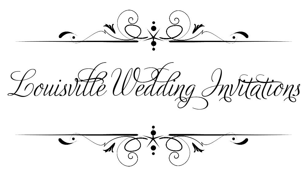 Louisville Wedding Invitations {List of Louisville Wedding Invitations ...