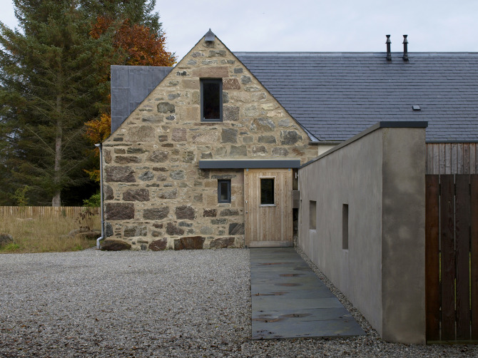 Bogbain mill the modern private house by rural design for Home designs rural