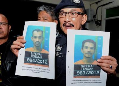 Dua, OKT, dikesan, hubungi, keluar, masing-masing, Kepala batas, Polis, Jenayah, Kubang Semang, Malaysia