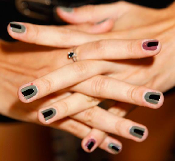 latest nail art design 2013