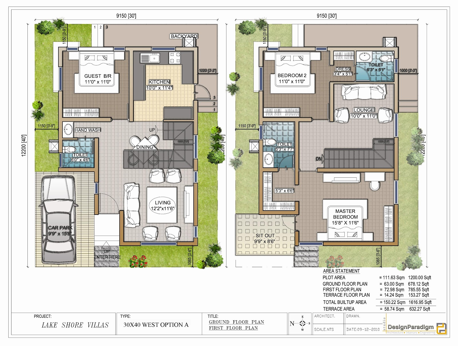 House plans and design architectural house plans for for Architecture design for 30x40 house