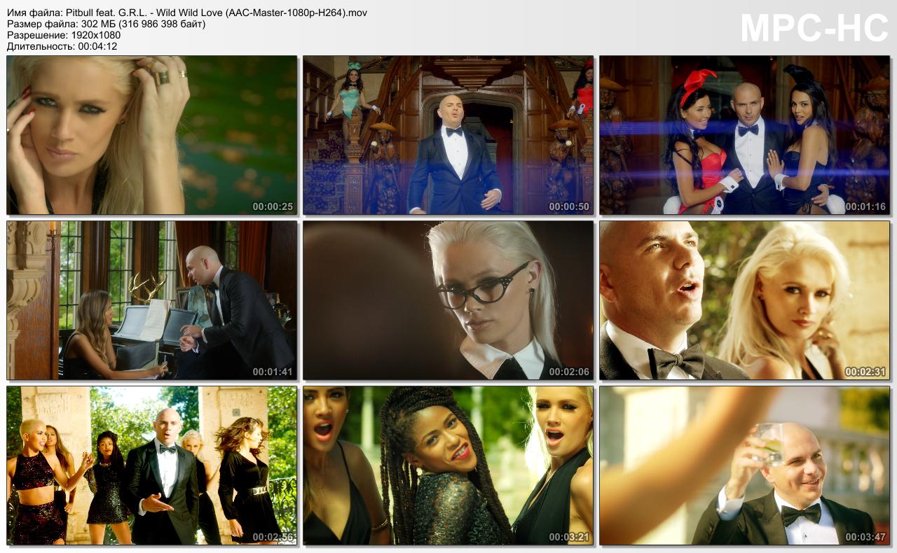 Pitbull Feat G R L Wild Wild Love Aac Master 1080p H264 Mov