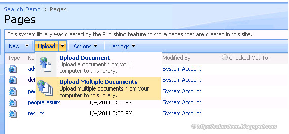 how to disable multiple file upload in sharepoint