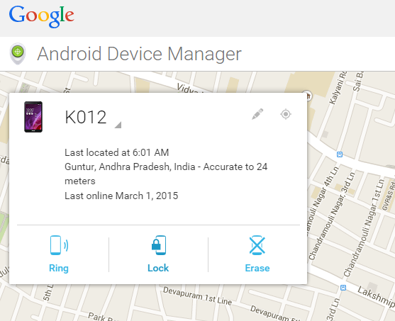 How To Find A lost or Theft Android Phone