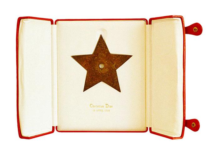 Christian Dior's lucky star