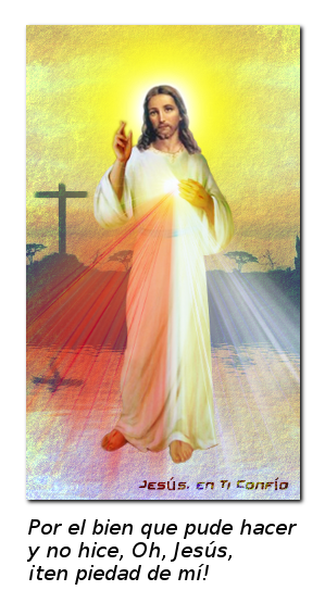 imagen para pedir perdon a la divina misericordia