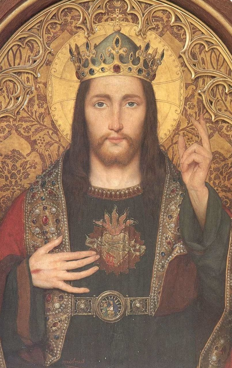 the mad monarchist happy christ the king day