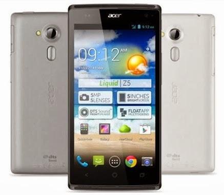Harga Acer Liquid Z5