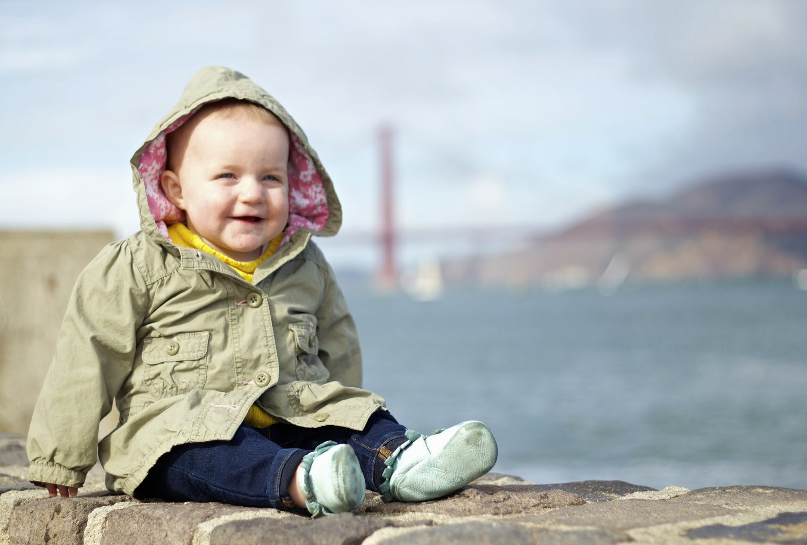 Take your kids to see the Golden Gate Bridge at Crissy Fields
