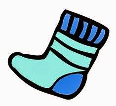 Nicholas' Swirly Tube Socks