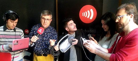 GORKA ZUMETA, INVITADO EN RADIO SABADELL