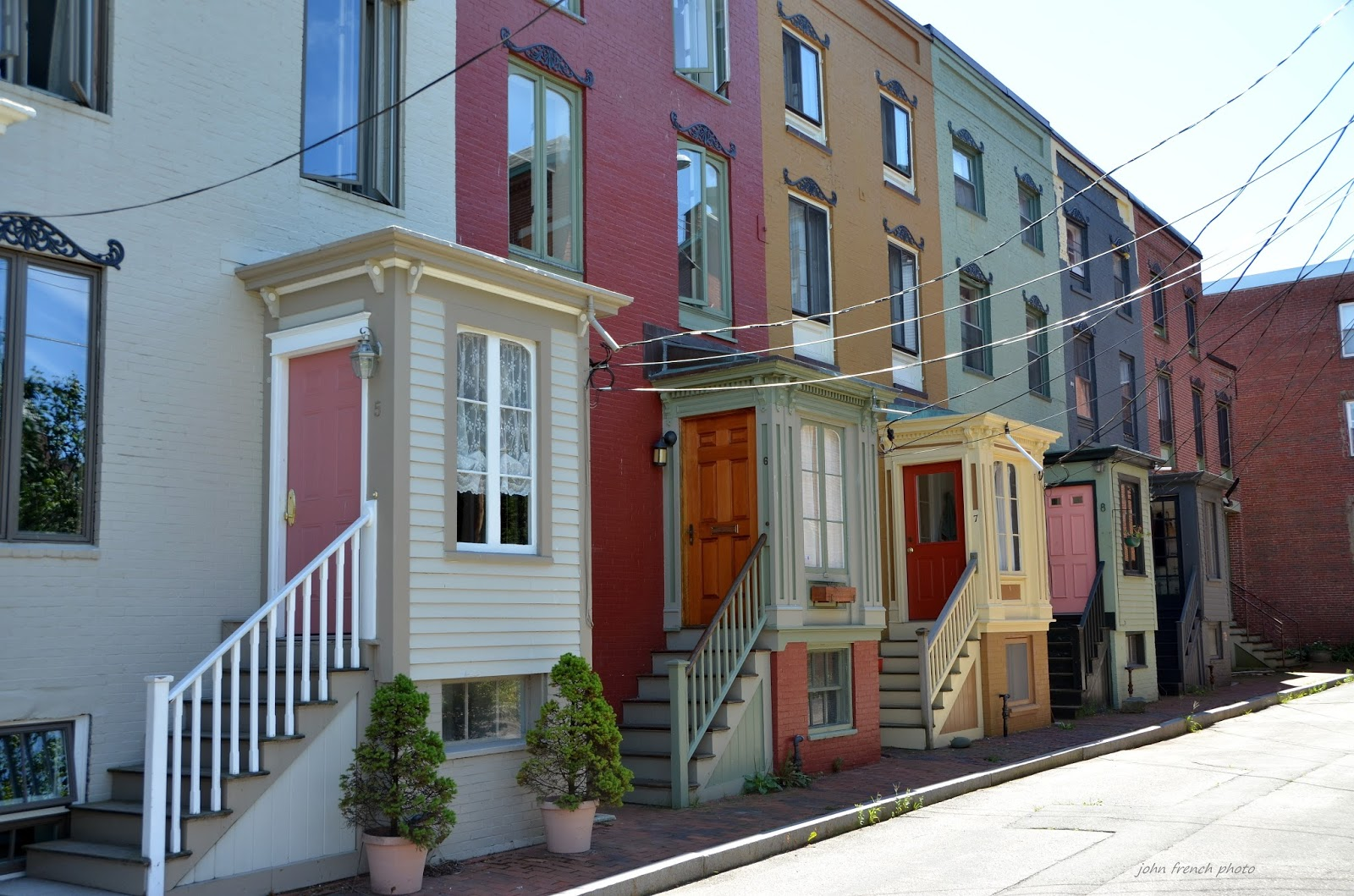 portland maine history 1786 to present blog  row houses at stratton place  portland maine