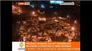 Donde ver imágenes en vivo sobre la situación de Egipto