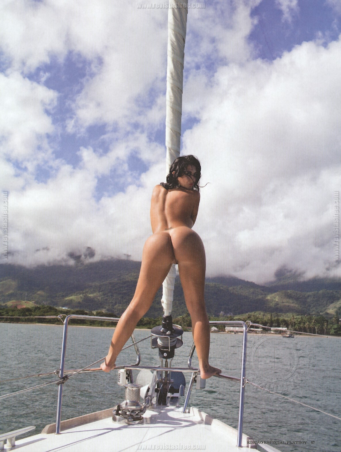 Aline Riscado Playboy Brasil Junho Famosas Nuas
