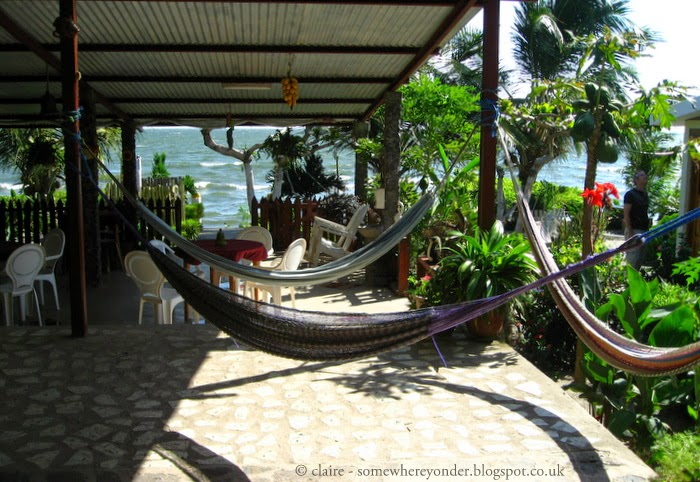 hammock time - enjoying the breeze on Isla de Ometepe - Nicaragua 2009