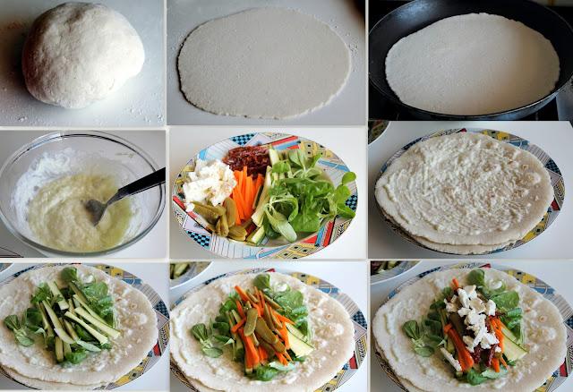 veggie-wrap, ma senza glutine