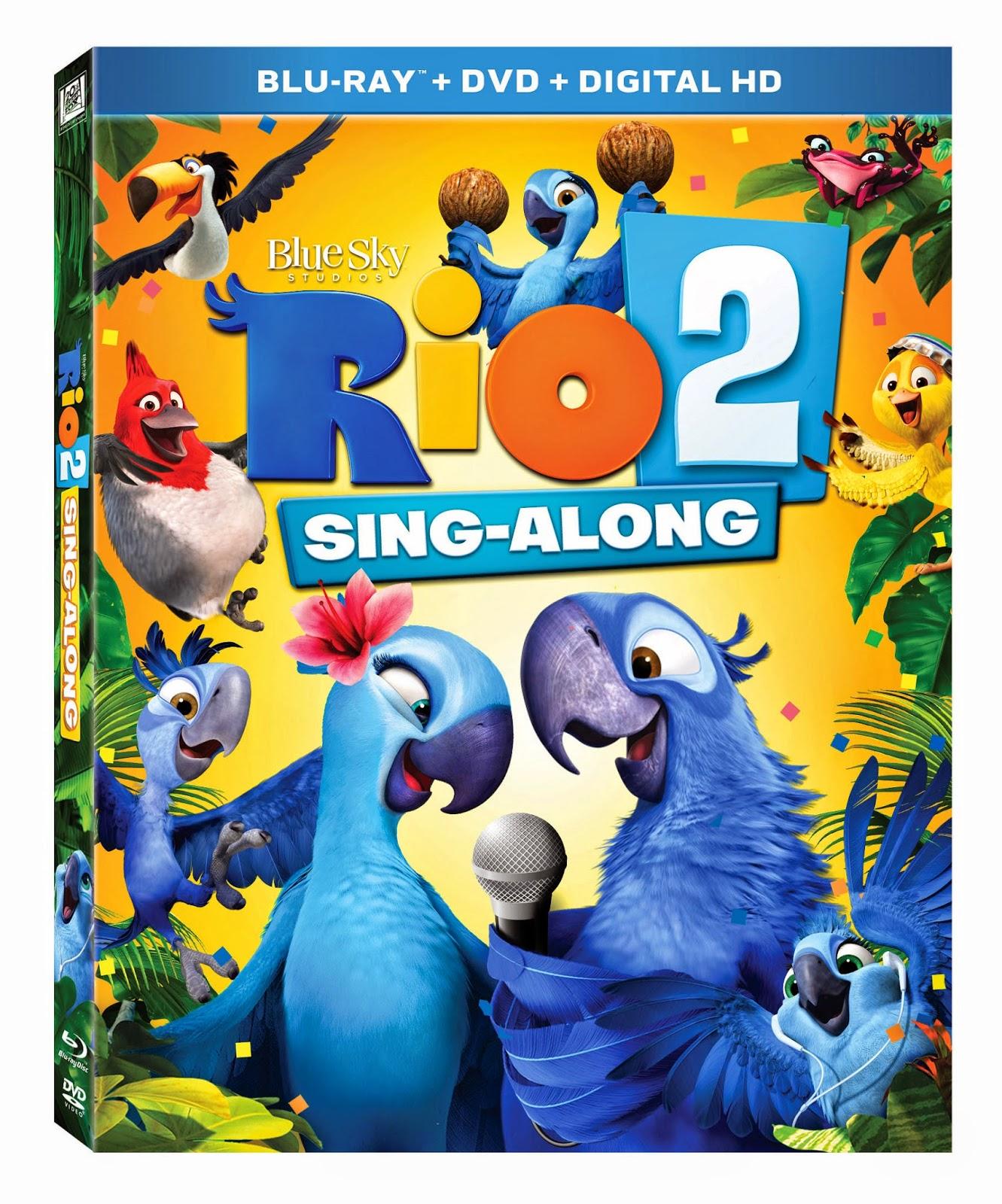 rio 2 dvd, custom r