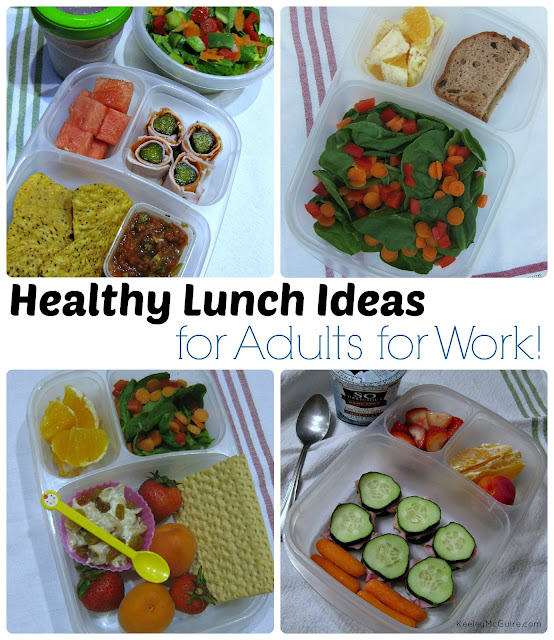 Pack-and-Go Healthy Lunch Recipes for Work. Pack-and-Go Healthy Lunch Recipes for Work. Get new healthy lunch recipes to pack and bring to work. Download a FREE Cookbook with Healthy Lunch Recipes for Work! Watch Video. See Recipes. ADVERTISEMENT. Recipes in slideshow. ADVERTISEMENT. ADVERTISEMENT.