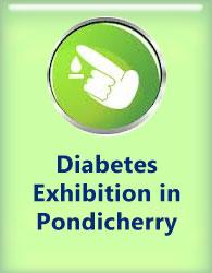 Diabetes exhibition in Pondicherry
