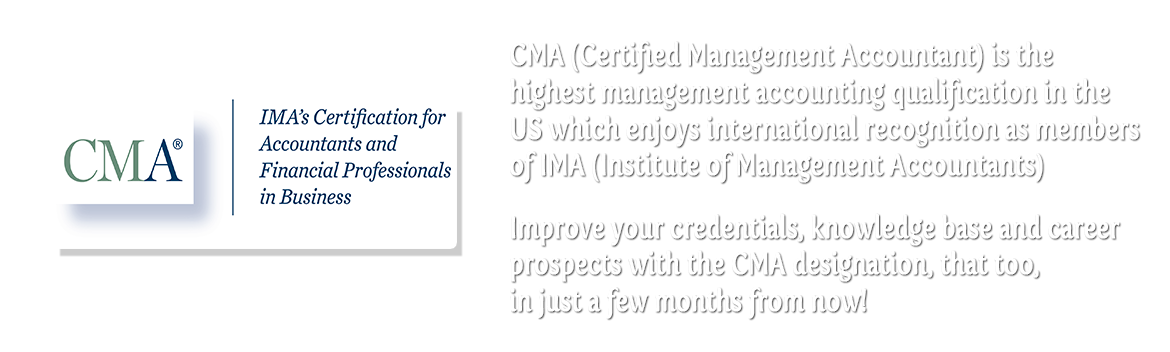 CMA Online Live Interactive Classes for International Students !