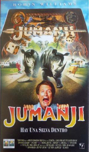 Jumanji, Robin Williams, Kirsten Dunst, Joe Johnston