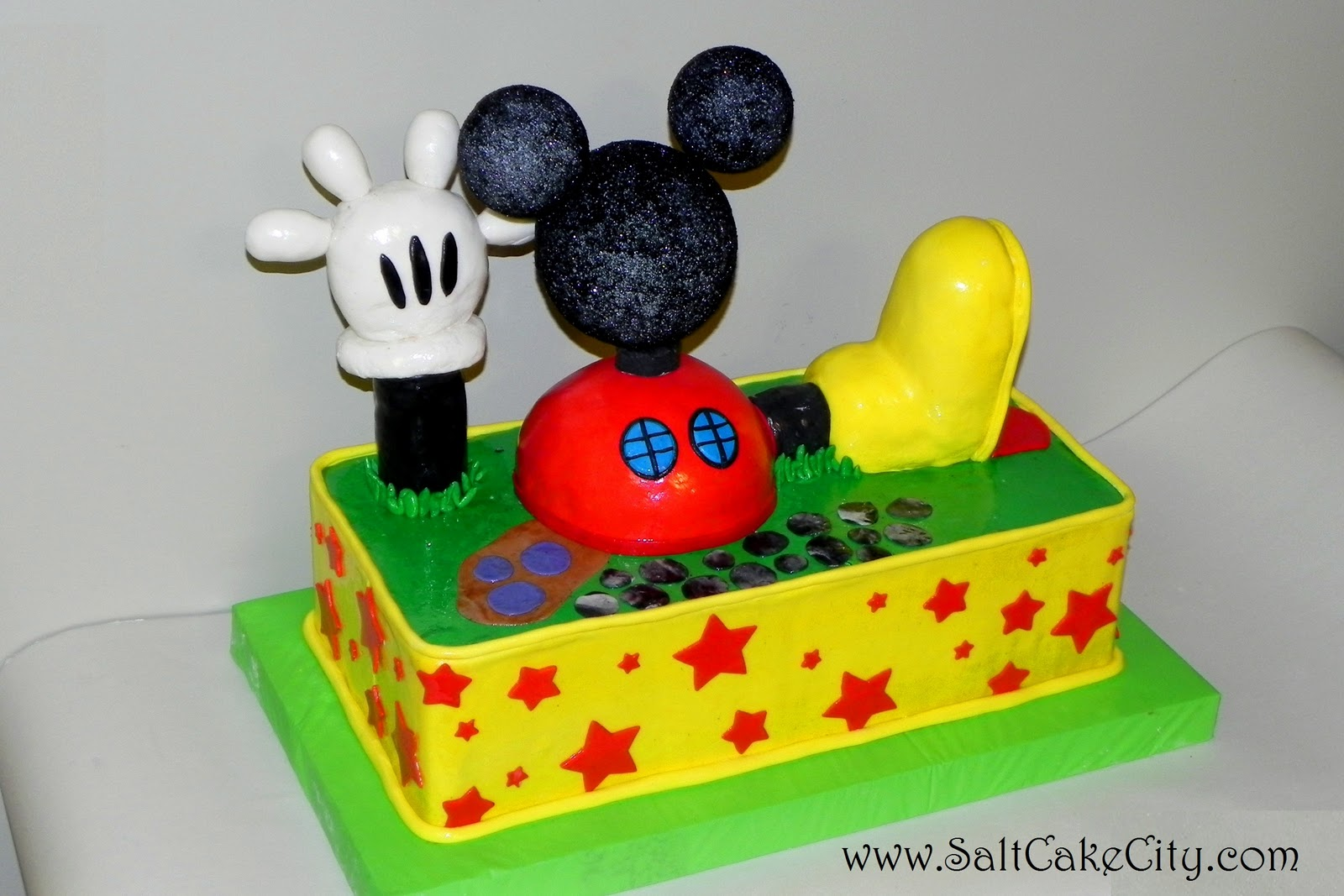 Salt Cake City Its the Mickey Mouse Clubhouse Come inside