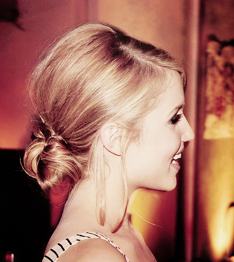Fresh Look Celebrity Dianna Agron Hairstyles 37
