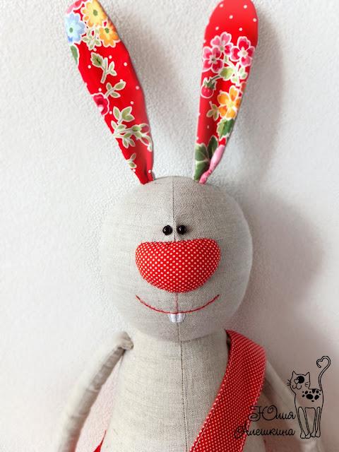 игрушка забавный заяц