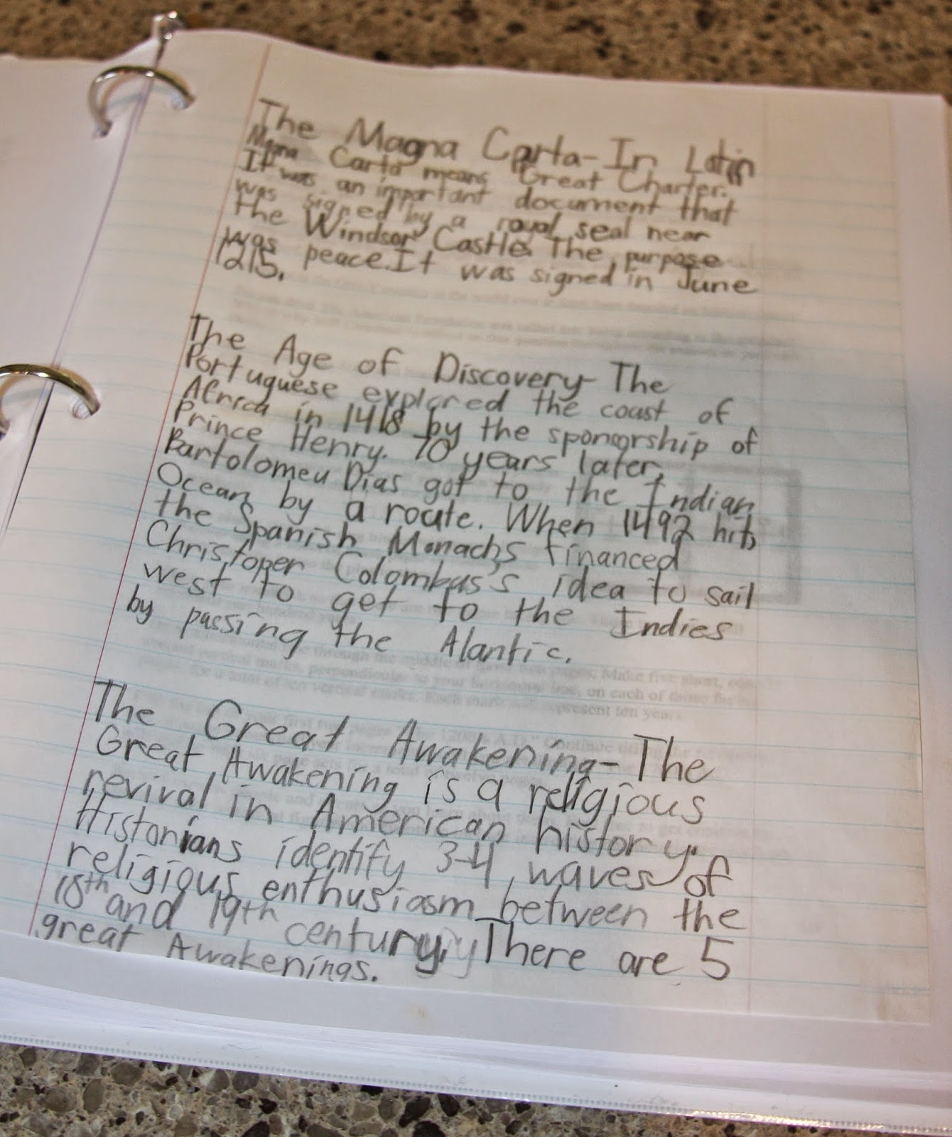 A learning journey may 2015 i made adaptations to several writing assignments instead of having alyssa write part two of the declaration of independence in a different voice fandeluxe Image collections