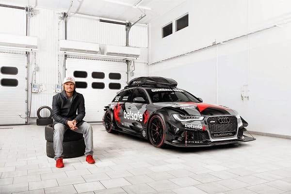 Robaron y quemaron el Audi RS6 Avant de Jon Olsson