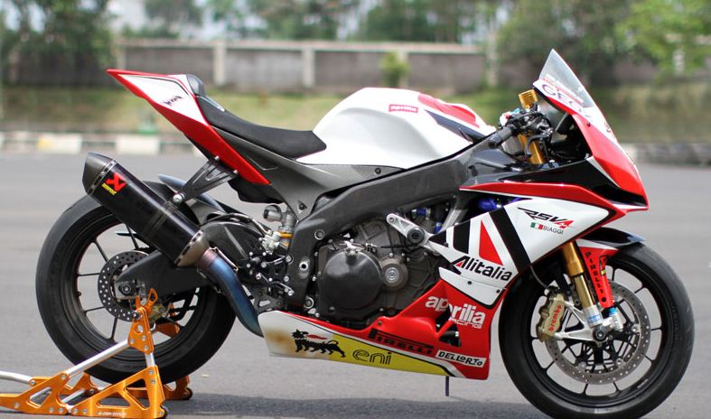 contoh modifikasi motor sport terbaru
