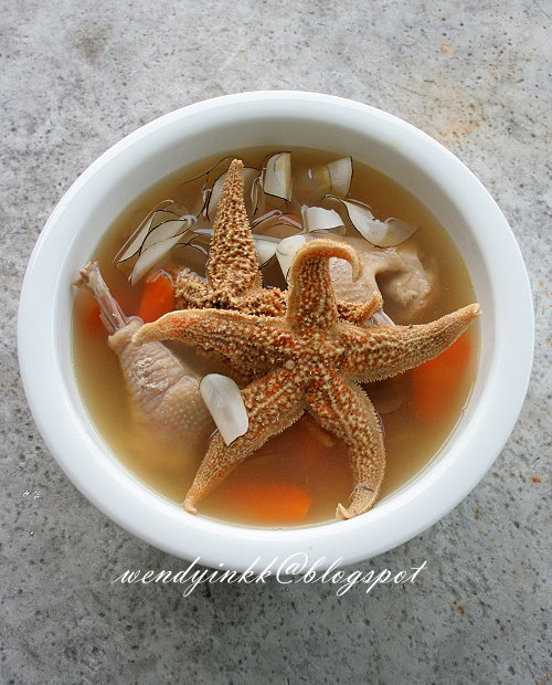 Table for 2.... or more  Starfish Sea Coconut Soup 海底金星- CNY ... 92837bf73eb