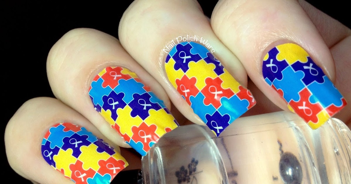 Nail Polish Wars: Jamberry Autism Awareness Apps Review & Giveaway