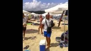 Ето така се продава царевица на плажа Смях - Смешни и забавни клипчета