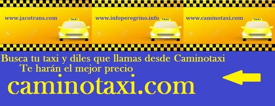 Tu taxi en el Camino de Santiago