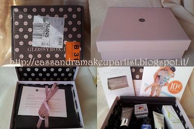 glossy box_settembre 2012_prodotti_inci_review_recensione