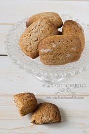 Biscotti integrali senza burro e senza latticini