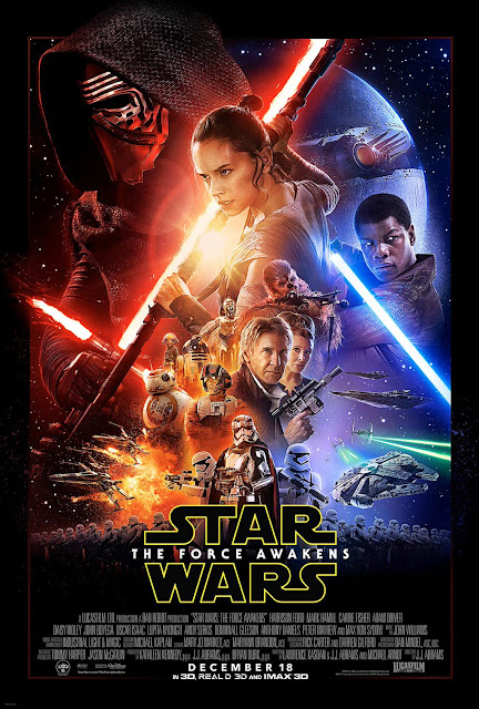 Star Wars Despertar de la Fuerza póster