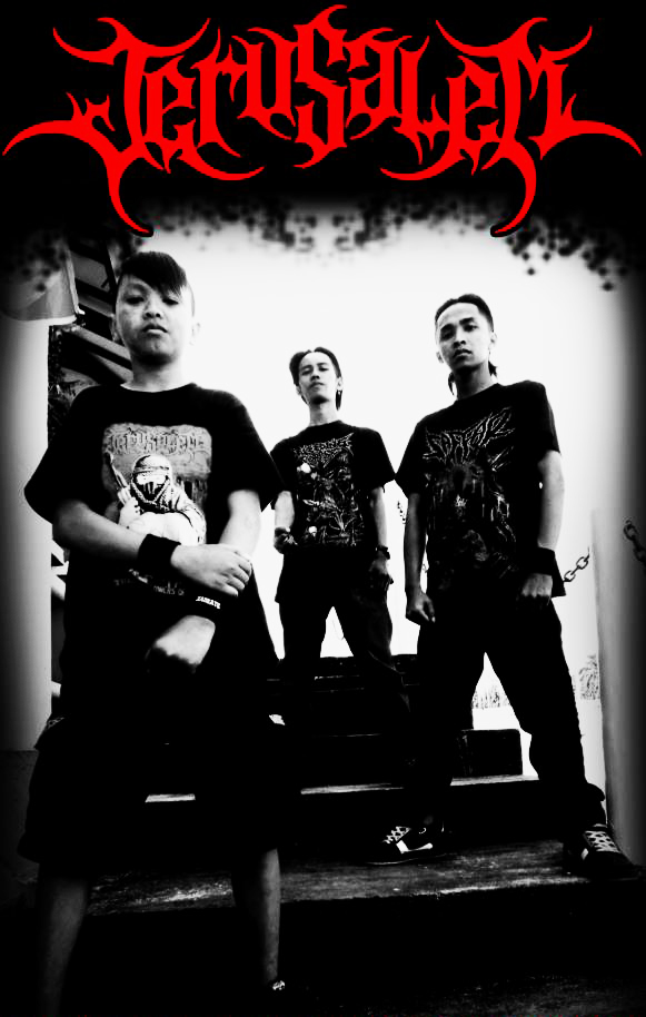 Indonesian Death Metal Wallpaper Jerusalem Band Death Metal