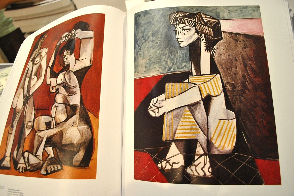 Picasso Jacqueline Roque Jacqueline Roque With Her