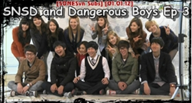 [ Vietsub] SNSD and Dangerous Boys Ep 3 – Part 5