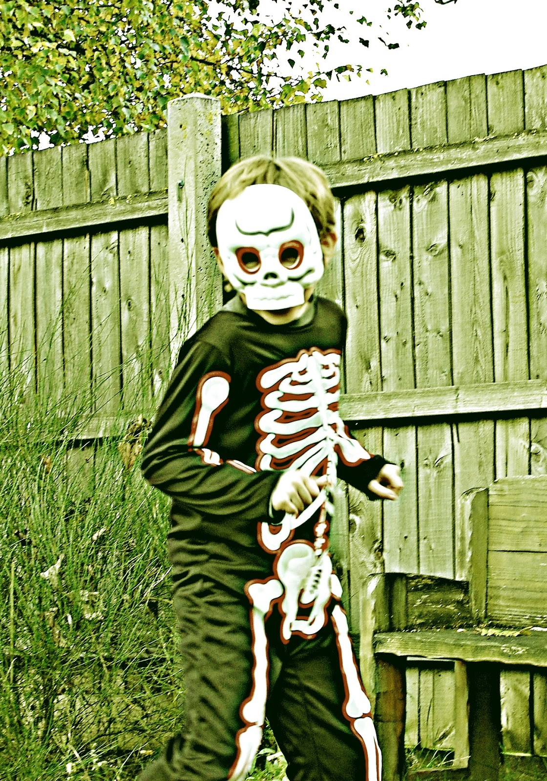 Asda Skeleton Costume