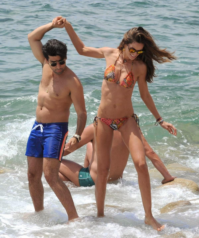 Izabel Goulart HOT Bikini Candids in Ibiza