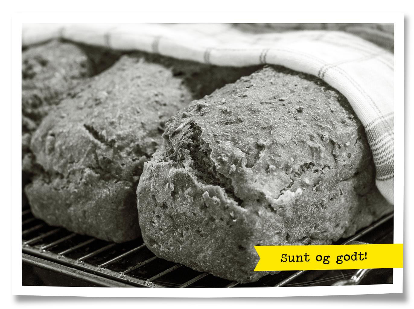 ferdig deig brød
