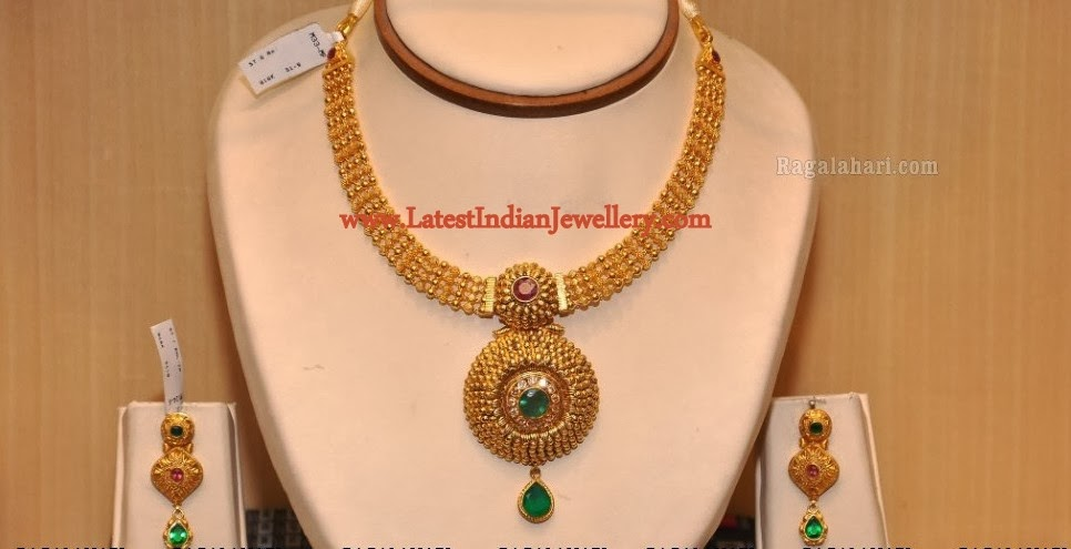 Antique Gold Necklace Set