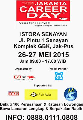 Jadwal Job Fair di Jakarta Mei 2015