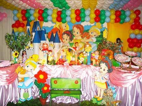 Decoración fiesta infantil bebés Disney - Imagui