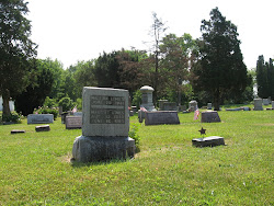 Pvt. Milton Limes' gravesite at the Hale Cemetery in Hale Township, Hardin County, Ohio
